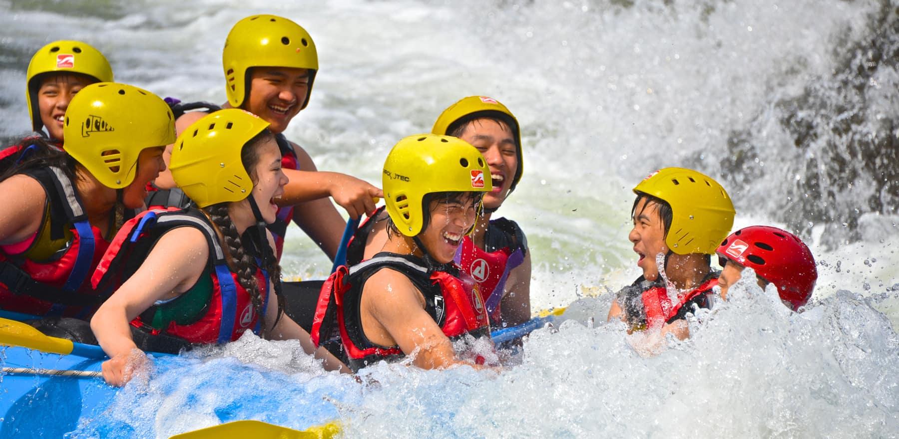 Klassetur rafting